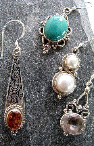 Sterling Bundle Dangle $16-18