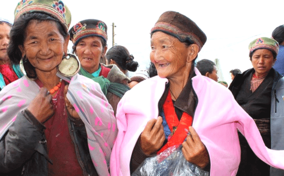 Earthquake relief in Nepal by Conscious Connections Foundation